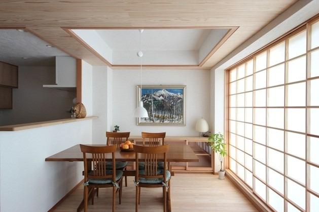 弦巻の家(改修) ダイニングキッチン