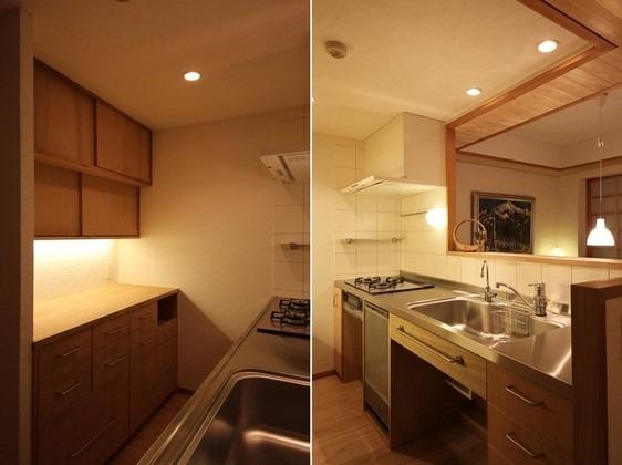 弦巻の家(改修) キッチン