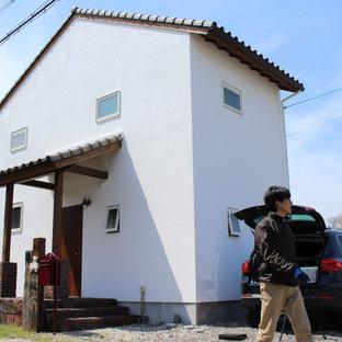 建蔽率30%容積率50%の狭小地に建てた家(新築一戸建)