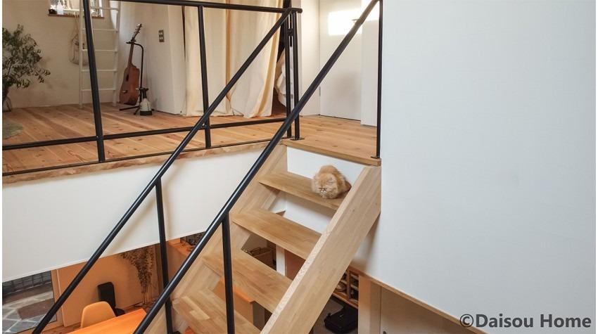 猫と暮らす快適なすまい 階段