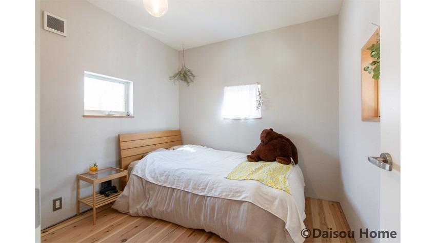 猫と暮らす快適なすまい 寝室